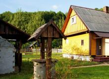 Holiday houses in the Belovezhskaya Pushcha. Holiday house Yablonevy sad, Brest Region