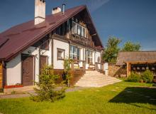 Holiday houses in the Belovezhskaya Pushcha. Holiday house Belovezhskoye Pomestye, Belovezhskaya pushcha