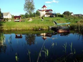 Holiday houses on the Augustow Canal (visa-free). Holiday house Cherniye camni, Grodno Region