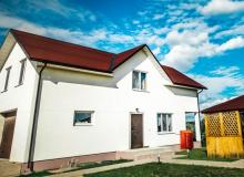 Holiday houses on the Berezina River. Holiday house Svetly bereg, Minsk Region