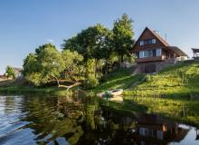 Holiday houses on the Berezina River. Holiday house U Grigoryevicha, Mogilev Region