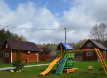 Holiday houses of Minsk Region. Holiday house Golubiye Ozera, Naroch