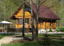 Holiday houses in the Lahoysk District. Holiday house Skazochnyi Domik, Minsk Region