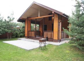 Holiday houses in Belarus. Holiday house Dykhanie lesa, Braslav