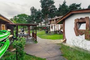 Holiday houses in the Pinsk District. Sosnovy bereg, Brest Region