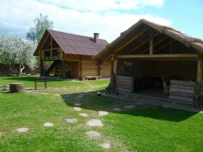 Holiday houses in the Myadel District. Holiday house Stary dom, Naroch Lakes