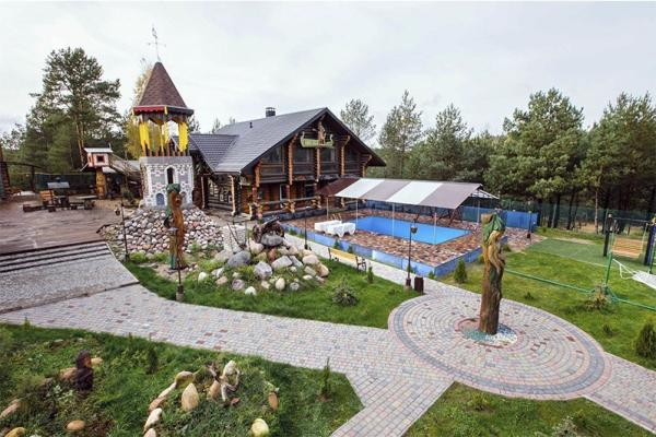 Holiday house Medvezhya zavala, Brest Region