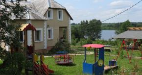 Holiday houses in the Gorodok District. Holiday house Ostrov Lyany, Vitebsk Region